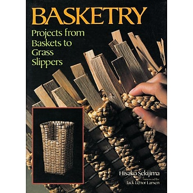 Basketry: Projects from Baskets to Grass Slippers, Used Book (9784770015259)