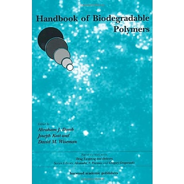 Handbook of Biodegradable Polymers (Drug Targeting and Delivery), Used Book (9789057021534)