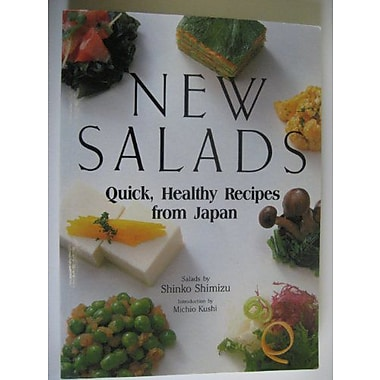 New Salads: Quick Healthy Recipes from Japan, Used Book (9784770016157)