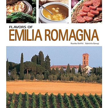 Flavors of Emilia Romagna (Flavors of Italy), New Book (9788889272039)