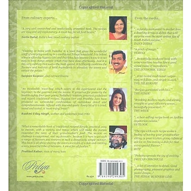 Cooking at Home with Pedatha (Best Vegetarian Book in the World - Gourmand Winner), New Book (9788190299305)