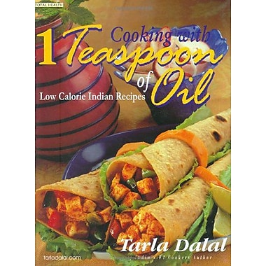 Cooking with 1 Teaspoon of Oil: Low Calorie Indian Recipes (Total Health Series), Used Book (9788186469675)
