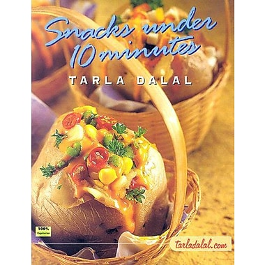 Snacks Under 10 Minutes, New Book (9788186469538)
