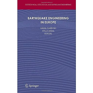 Earthquake Engineering in Europe (Geotechnical, Geological and Earthquake Engineering), New Book (9789048195435)