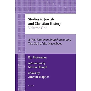 Studies in Jewish and Christian History (Brill's Paperback Collection), New Book (9789004206069)