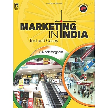 MARKETING IN INDIA: Text and Cases, Used Book (9789325956766)