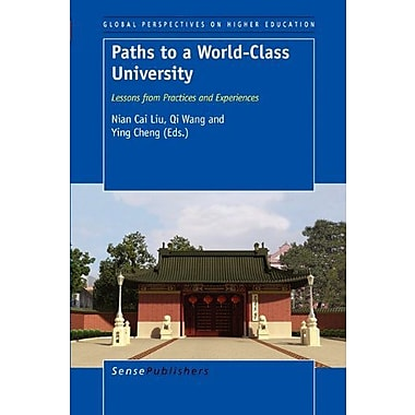 Paths to a World-Class University, Used Book (9789460913549)