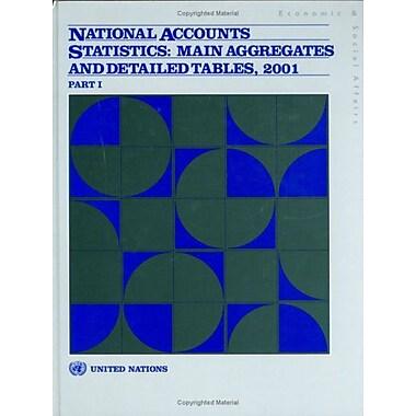 National Accounts Statistics 2001 (9789211614640)