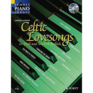 CELTIC LOVESONGS - 2O IRISH AND SCOTTISH BALLADS PVG - CD INCLUDED (Schott Piano Lounge), Used Book (9783795758073)
