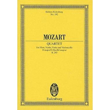 Quartet K. 285 D Major Flute, Violin, Viola & Violoncello, New Book (9783795769055)