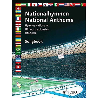 NATIONAL ANTHEMS SONGBOOK MELODY EDITION WITH CHORDS, Used Book (9790001139878)