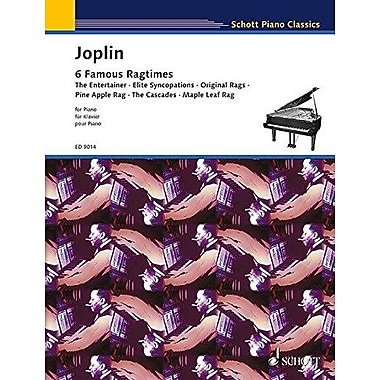 6 RAGTIMES FROM THE SCHOOL OF RAGTIME PIANO SOLO, Used Book (9790001115995)