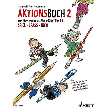 PIANO KIDS VOL. 2 AKTIONSBUCH, New Book (9783795751661)