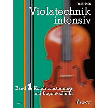 INTENSIVE VIOLA TECHNIQUE VIOLATECHNIK INTENSIV VOLUME 1, New Book (9783795757120)