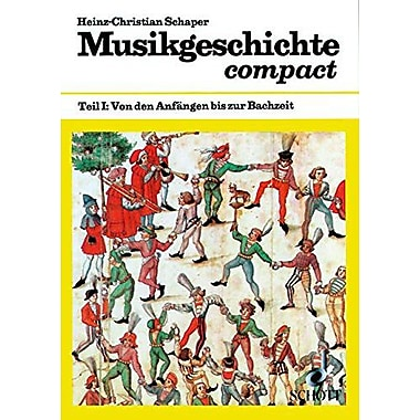MUSIKGESCHICHTE COMPACT TEIL 1 TERMAN TEXT, New Book (9783795723811)