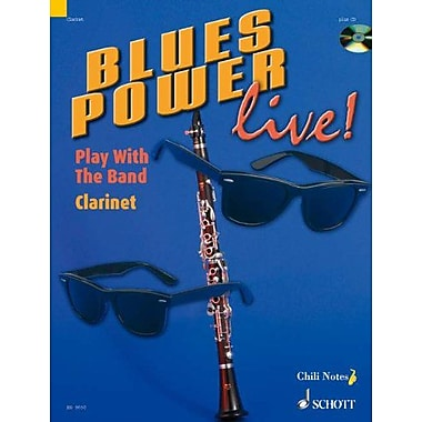 BLUES POWER LIVE] CLARINET PLAY WITH THE BAND BOOK AND CD, Used Book (9783795757489)