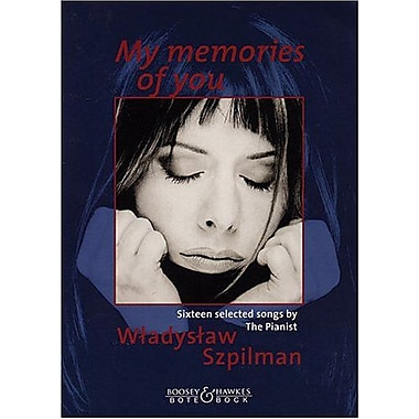 MY MEMORIES OF YOU VOICE AND PIANO (9790202530856)