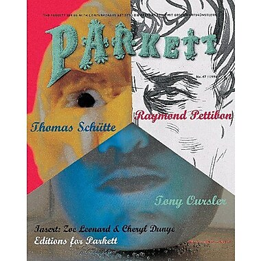 Parkett No. 47 Tony Oursler, Raymond Pettibon, Thomas Schutte (v. 47), Used Book (9783907509975)