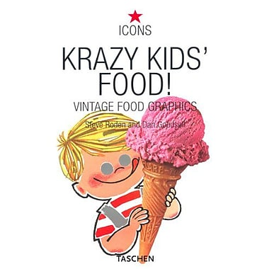 Krazy Kid's Food!, New Book (9783822822371)