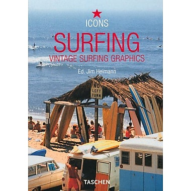 Surfing: Vintage Surfing Graphics (Icons), Used Book (9783822830079)