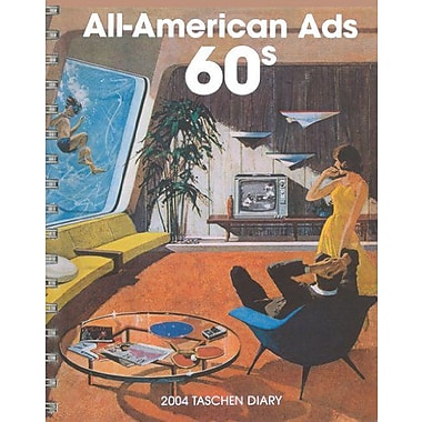 The All-American Ads 60s Diary, New Book (9783822826515)