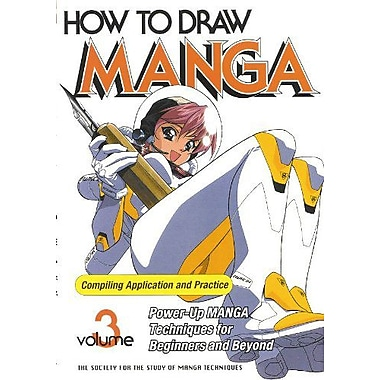 How to Draw Manga Compiling Application and Practice, Vol. 3, Used Book (9784889960457)