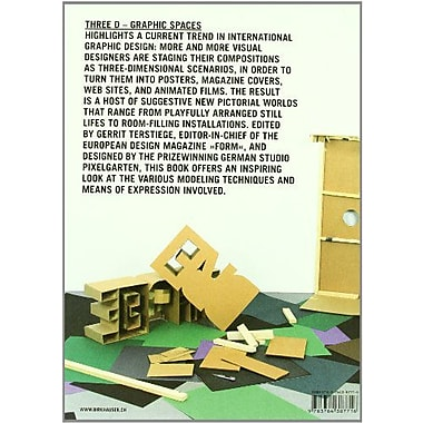 Three D - Graphic Spaces, Used Book (9783764387716)
