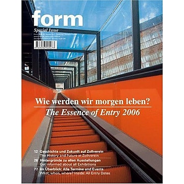 Entry 2006 (Zeitschrift Form) (9783936560473)