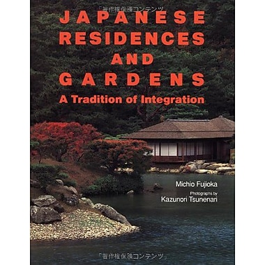 Japanese Residences and Gardens, New Book (9784770019776)