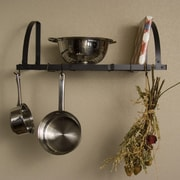 Advantage Components Expandable Wall Mount Pot Rack / Shelf