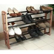 Proman Expandable Stacking 10 Pair Shoe Rack
