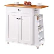 Wholesale Interiors Baxton Studio Kitchen Cart