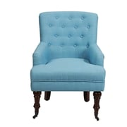 AdecoTrading Leisure Arm Chair; Blue