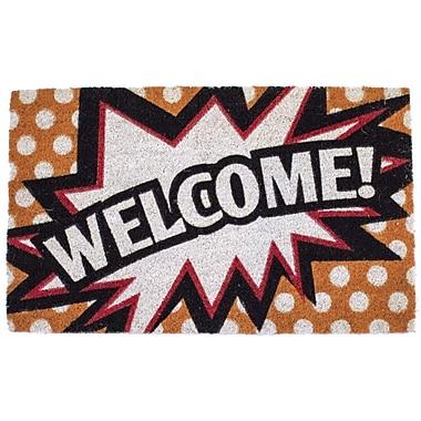 Entryways Sweet Home Comic Welcome Doormat