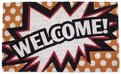 Entryways Sweet Home Comic Welcome Doormat
