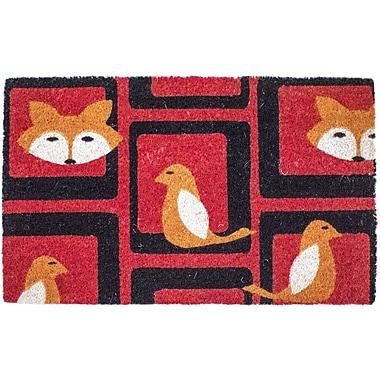 Entryways Sweet Home Foxy Doormat