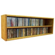 Wood Shed Multimedia Storage Rack; 12.75'' H x 39.43'' W x 6.75'' D