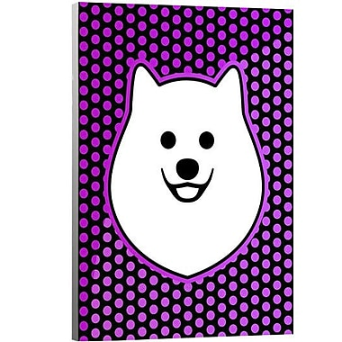 Artzee Designs 'Modern Pomeranian' Graphic Art on Wrapped Canavs; 24'' H x 14'' W x 0.75'' D