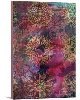 Artzee Designs 'Modern Bohemian' Graphic Art on Wrapped Canvas; 24'' H x 12'' W x 0.75'' D