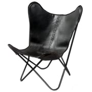 Fashion N You Leather Butterfly Lounge Chair
