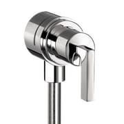 Axor Axor Citterio Fix Fit Wall Outlet w/ Lever Handle; Chrome