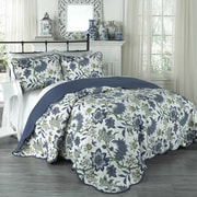 Traditions by Waverly 3 Piece Quilt Set; King