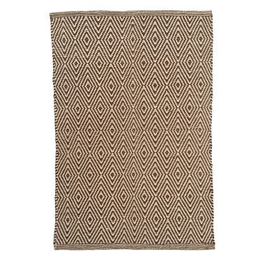 Artim Home Textile Diamond Sable Area Rug; Runner 2'5'' x 8'