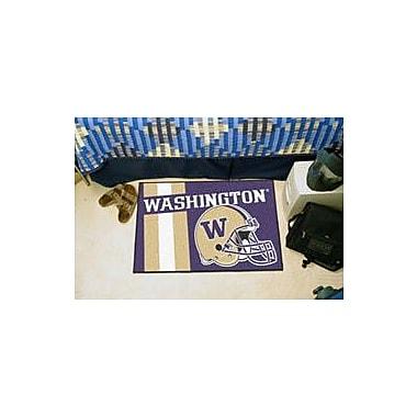 FANMATS NCAA University of Washington Starter Doormat