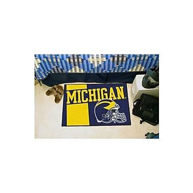 FANMATS NCAA University of Michigan Starter Mat