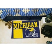 FANMATS NCAA University of Michigan Starter Mat