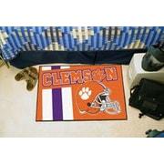 FANMATS NCAA Clemson University Starter Mat