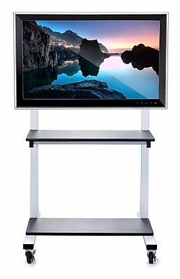 Luxor Crank-Adjustable Flat Panel TV Cart (CLCD)
