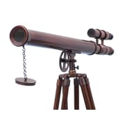 Handcrafted Nautical Decor Griffith Astro Refracting Telescope; Antique Copper