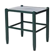 Dixie Seating Franklin Side Table; Green